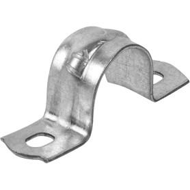 Скоба оцинкованная Iek с двойным отверстием D12 мм 10 шт.