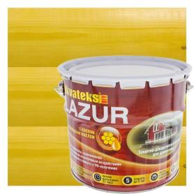 Антисептик защитно-декоративный  для дерева Akvateks DIY Lazur цвет калужница 3 л