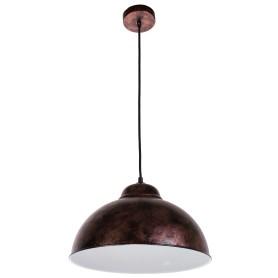 Подвесной светильник Eglo «Truro»-2» 1хE27x60 Вт, цвет медный/патина