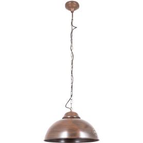 Подвесной светильник Eglo «Truro»-2» 1хE27x60 Вт, цвет коричневый антик