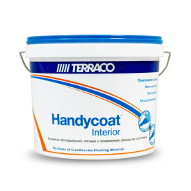 Шпаклёвка Terraco Хэндикоат Interior, 5 кг