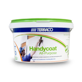 Шпаклёвка Terraco Хэндикоат All-Purpose, 3.5 кг