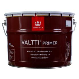 Грунтовка антисептическая Tikkurila «Valtti Primer» 9 л бесцветная