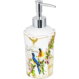 Дозатор для жидкого мыла настольный «Птички»
