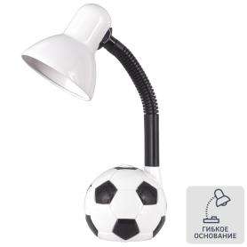 Настольная лампа Camel KD-381 «Мяч», цвет белый
