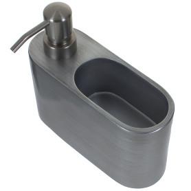 Дозатор для жидкого мыла с держателем для губки NEO, 5х13,5х6,2 см