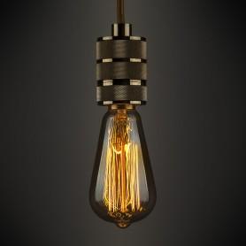 Лампа накаливания Elektrostandard «Эдисон ST64» E27 230 В 60 Вт колба прозрачная с золотистым напылением, тёплый белый свет