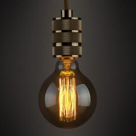Лампа накаливания Elektrostandard «Эдисон E-G125-05» E27 230 В 60 Вт шар прозрачный, тёплый белый свет