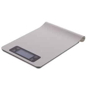 Весы настольные NEO, 24,5х16,8х2 см, хром