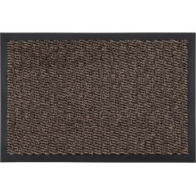 Коврик «Step» полипропилен 40x60 см цвет коричневый