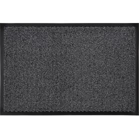 Коврик «Step» полипропилен 60x90 см цвет серый