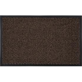 Коврик «Step» полипропилен 50x80 см цвет коричневый