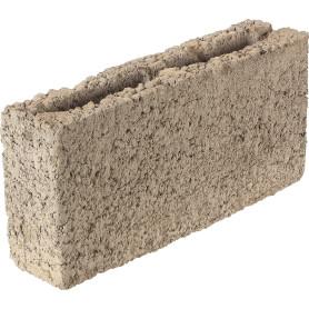 Блок керамзитобетонный 390x90x188 мм