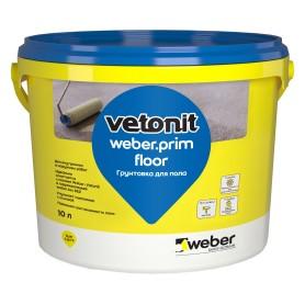 Грунтовка для пола Weber Vetonit Prim Floor 10 л