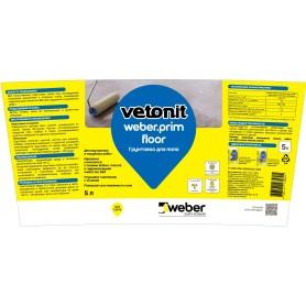 Грунтовка для пола Weber Vetonit Prim Floor 5 л