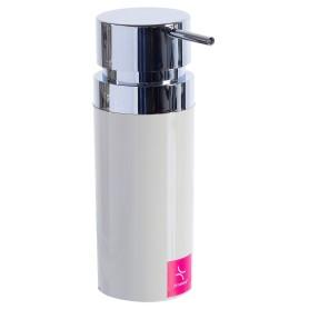 Дозатор для жидкого мыла настольный «Lenox» цвет бежевый