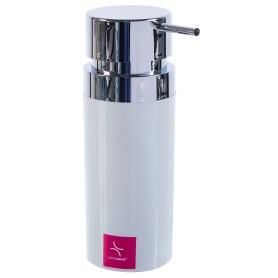 Дозатор для жидкого мыла настольный «Lenox» цвет белый