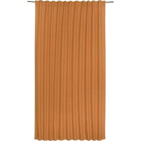Штора на ленте «Лукс» 200х260 см цвет оранжевый