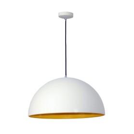 Подвесной светильник Inspire Cedar 1xE27x60 Вт 40 см металл, цвет молочный/жёлтый
