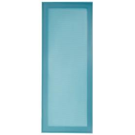 Витрина для шкафа Delinia «Электрик» 40x92 см, алюминий/стекло, цвет синий
