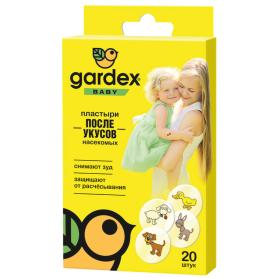 Пластырь Gardex Baby  против укусов насекомых