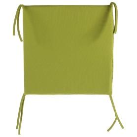 Галета для стула 35х35х2 см цвет горчичный
