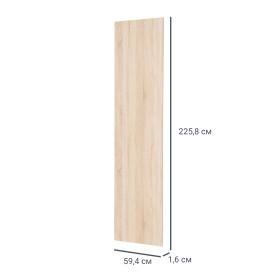 Дверь для шкафа Лион 59.4х225.8х1.6 см цвет дуб сонома