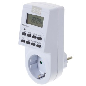 Таймер электронный Evology, TGE-2, LCD дисплей, цвет белый