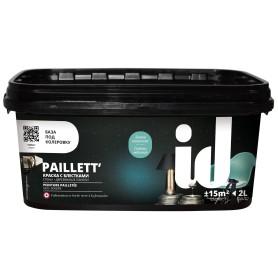 Краска с блестками Paillet' матовая 2 л