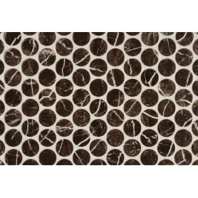 Плитка наcтенная «Помпеи 1» 27.5х40 см 1.65 м2 цвет чёрный