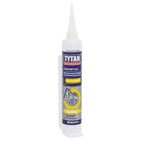 Герметик Tytan Professional силиконовый универсальный бесцветный, 80 мл