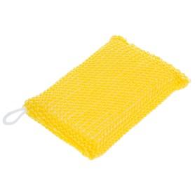 Мочалка для бани объемная вязаная