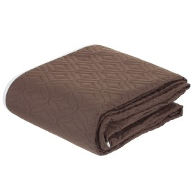 Покрывало стёганое «Melissa» 200х220 см цвет бежево-коричневый