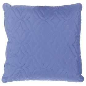 Подушка стёганая «Melissa» 40х40 см цвет синий