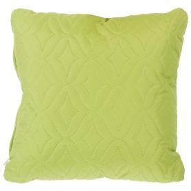Подушка стёганая «Melissa» 40х40 см цвет зелёный