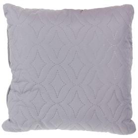 Подушка стёганая «Melissa» 40х40 см цвет серый
