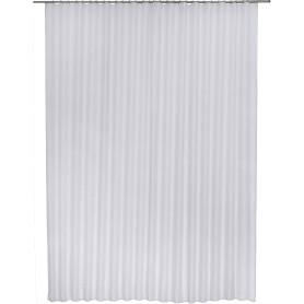 Тюль на ленте «Лол» 300х280 см цвет серый