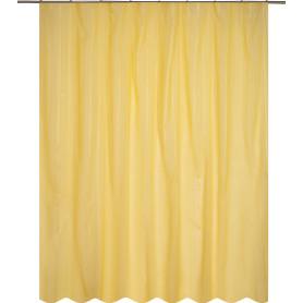 Тюль на ленте «Лиза» 300х280 см цвет жёлтый