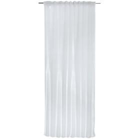 Тюль на ленте «Топ 1000» 140х280 см цвет белый