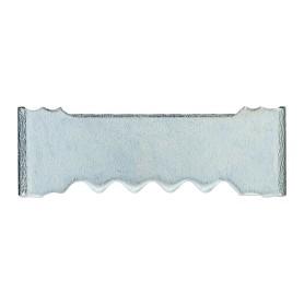 Зацеп зубчатый для рамки, забивной, малый, 25 мм, оцинкованная сталь