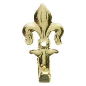 Крючок настенный Классический средний 35 мм, латунь