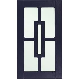 Витрина для шкафа Delinia «Антея» 40x70 см, МДФ, цвет синий