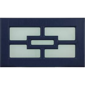 Витрина для шкафа Delinia «Антея» 60x35 см, МДФ, цвет синий