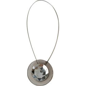 Подхват магнитный «Маира» 5.5х36 см цвет серый