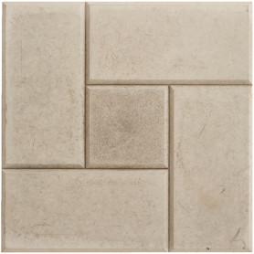 Плитка тротуарная «Калифорния» 300х300х30 мм цвет серый