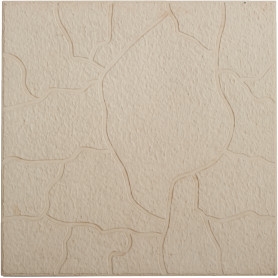 Плитка тротуарная «Тучка» 300х300х30 мм цвет серый