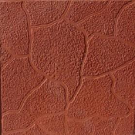 Плитка тротуарная «Тучка» 300х300х30 мм цвет красный