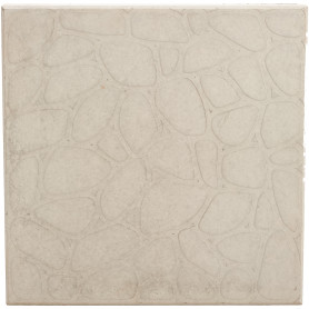 Плитка тротуарная «Галька» 400х400х50 мм цвет серый