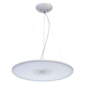 Светильник умный светодиодный RGB музыкальный «Норден» 36 Вт круглый