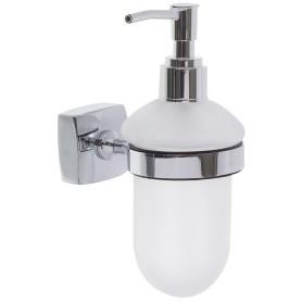 Дозатор подвесной для жидкого мыла Sensea «Kvadro» цвет хром
